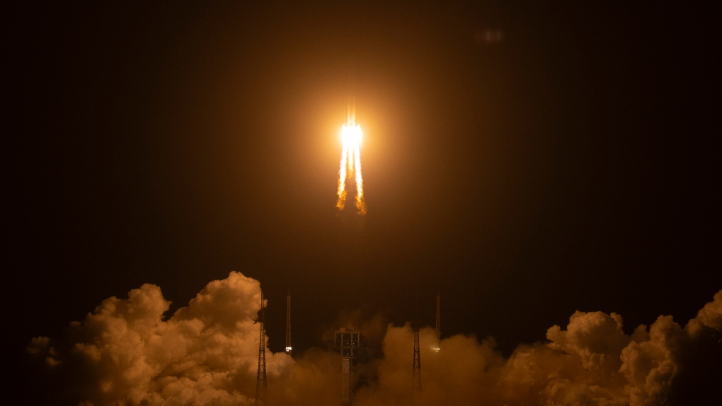 Chang'e 5 launch