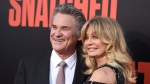 "FILE - Kurt Russell, left, and Goldie Hawn appear at the premiere of Hawn's film, ""Snatched"" in Los Angeles on May 10, 2017. (Photo by Jordan Strauss/Invision/AP, File)"