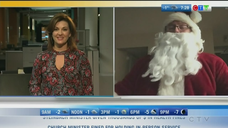 You can expect to see Santa at this year's Holiday Alley in Selkirk. Rachel Lagacé has more.