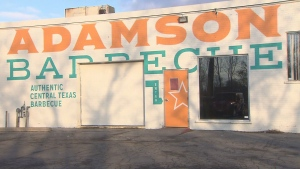 Adamson Barbecue's Etobicoke location is seen in this photo.