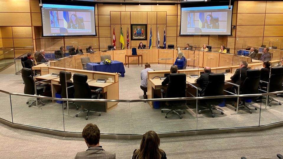 regina city council sworn 2020