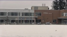 Innisdale Secondary School in Barrie, Ont. (Mike Arsalides/CTV News)