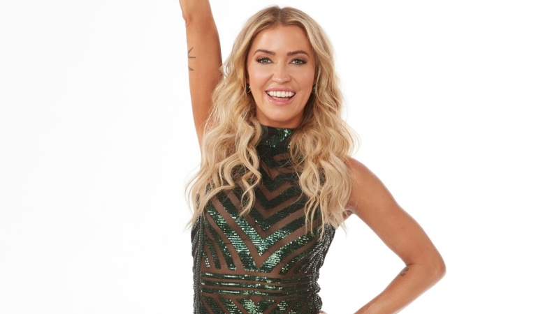 Kaitlyn Bristowe, from Leduc, Alta., was crowned the season 29 winner of ABC's Dancing With the Stars on Nov. 23, 2020. (Credit: ABC)