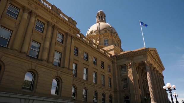 A new payroll system for Alberta government workers introduced last month isn't working properly, the AUPE says. (File)