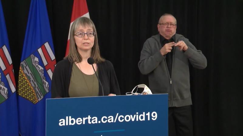 Deena Hinshaw, CMOH, Alberta
