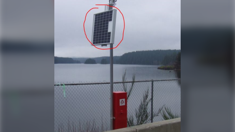 The search for stolen solar panels is just one of several incidents that Campbell River RCMP dealt with over the past week: (Campbell river RCMP)