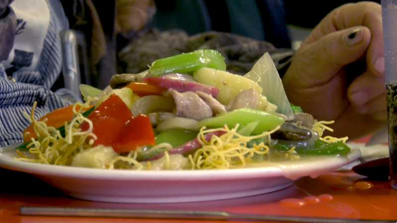 Bing's #1 Restaurant is providing free meals to those in need. Tuesday Nov. 24, 2020 (CTV News Edmonton)