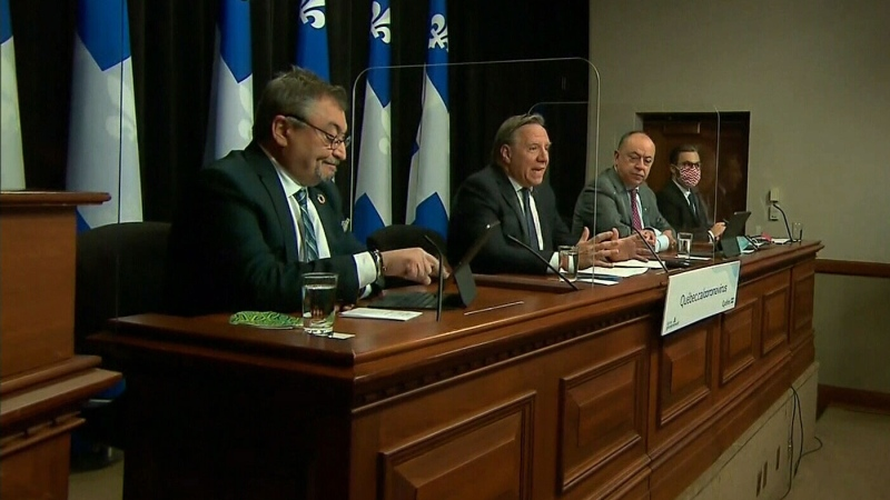 Quebec updates Christmas 'moral contract'