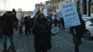 Quebec restaurants protest, claiming lack of suppo