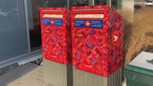 Canada Post Christmas delivery deadlines are fast approaching. Ottawa, ON. Nov. 24, 2020. (Tyler Fleming / CTV News Ottawa)