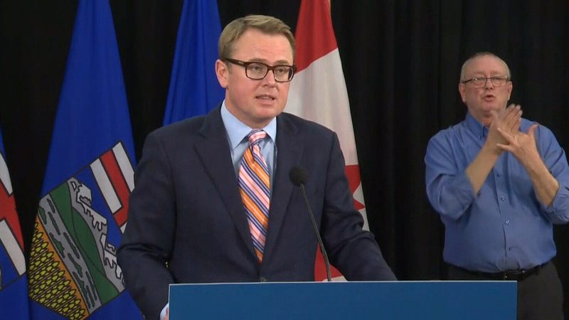 Alta. health minister on new restrictions