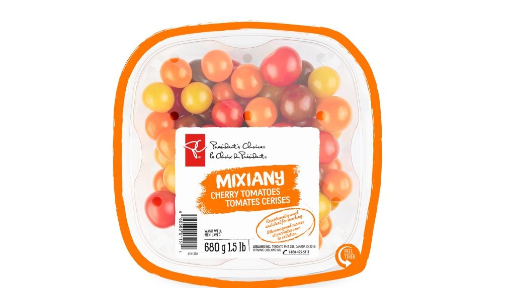 Mixiany cherry tomatoes (courtesy Nature Fresh Far