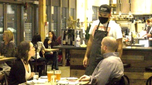 A local chef is asking for restaurants to be locked down to help prevent the spread of COVID-19. (CTV News Edmonton)