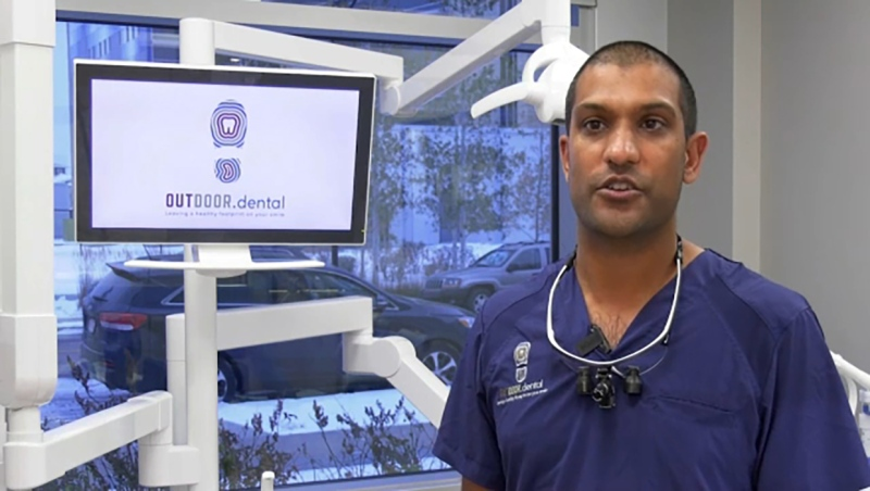 He's a feel-good dentist and he's this week's Inspired Albertan, Dr. Jay Patel. Darrel Janz reports