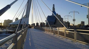 Esplanade Riel. Photo by Laverne Flett.