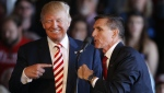 Trump and Flynn attend a rally on October 18, 2016 in Grand Junction, Colorado. (George Frey/Getty Images)
