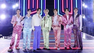 K-pop group BTS, arguably the biggest boy band in the world, earned their first ever Grammy Award nomination on Tuesday for their hit song 'Dynamite.' (	Big Hit Entertainment/AMA 2020/Getty Images)