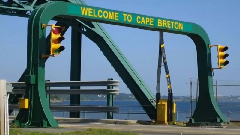 Cape Breton's Canso Causeway is seen in this file photo.