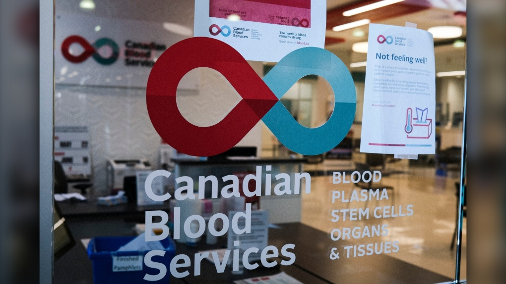 Canadian Blood Services, Calgary, clinic