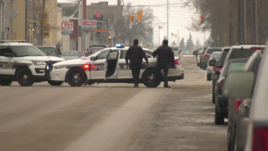Police responded to the reported gunshots in the 600 block of Dufferin Avenue at around 7:40 a.m.