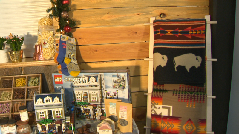 Crossroads  Market offers local artisan gift ideas, fresh produce, baking, and even a chance to help CTV's Toy Mountain campaign