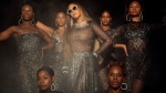 "This image released by Disney Plus shows Beyoncé in a scene from her visual album ""Black is King."" (Andrew White/Parkwood Entertainment/Disney + via AP)"