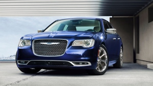 This photo provided by Chrysler shows the 2020 Chrysler 300C. (Chrysler via AP)