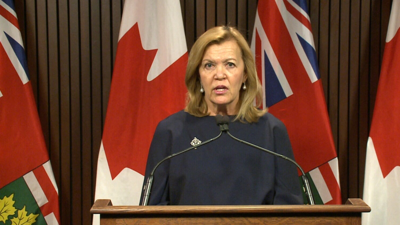 Ontario's health minister