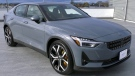 The fully electric Polestar 2 is shown: (CTV News)