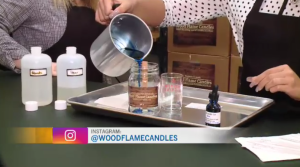 Make your own wooden wick candle at this local shop