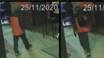 New Brunswick RCMP are asking for the public's help to identify a man who robbed a bar in Dieppe, N.B. early Wednesday morning.