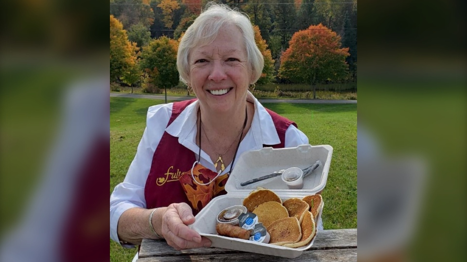 Shirley Deugo-Fulton of Fulton's Pancake House and Sugar Bush in Almonte, ON. (Photo courtesy of Fulton's)