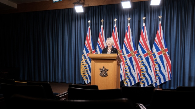 Provincial health officer Dr. Bonnie Henry provides an update on COVID-19 on November 23, 2020: (Province of B.C. / Flickr)