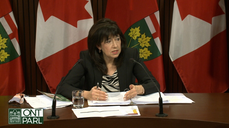 Ontario's Auditor General Bonnie Lysyk