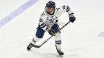 The Edmonton Oilers signed 21-year-old Philip Kemp to a three-year contract. Kemp named Yale Bulldogs captain for the 2020-21 season, but Ivy League hockey was cancelled Nov. 12. (Photo: Twitter/Edmonton Oilers)