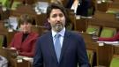 Justin Trudeau in question period