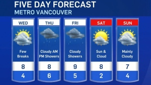 Wednesday's weather forecast with Ann Luu