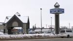 The Travelodge Hotel in Saskatoon is pictured Nov. 25, 2020. (Carla Shynkaruk/CTV Saskatoon)