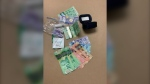 Lethbridge Police have seized more than $5,000 worth of illegal drugs and almost $2,800 in cash following a surveillance operation that took place Wednesday. (Supplied)