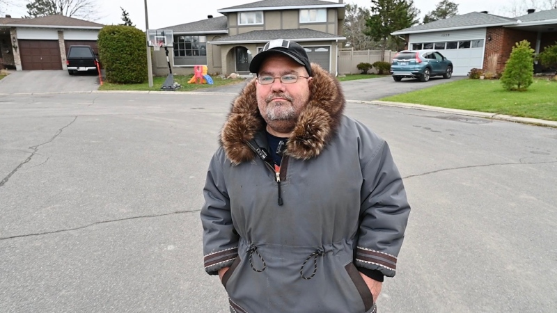 Marc Laperle is back in Ottawa after suffering a heart attack while in Nunavut. (Joel Haslam/CTV News Ottawa)