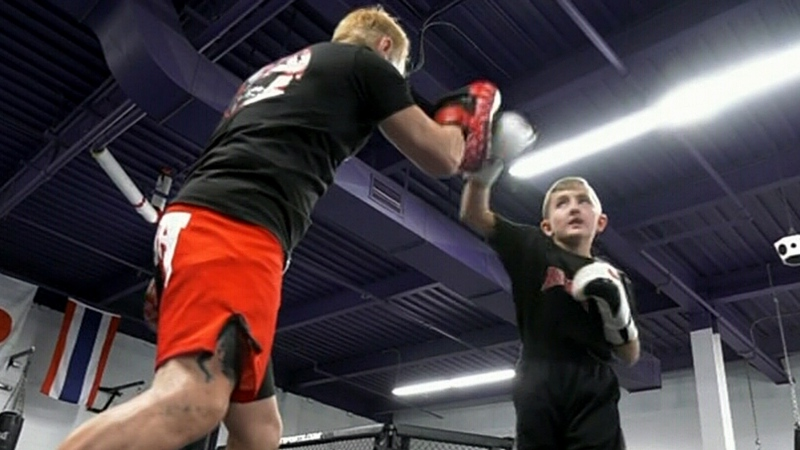 Martial arts studio helps victims of bullying