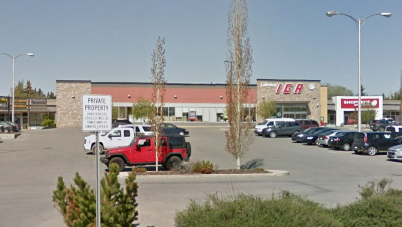 Sobeys Inc. says a worker at the Lakeview IGA tested positive for COVID-19 on Nov. 23. They last worked there on Nov. 12. (File/Google Maps)