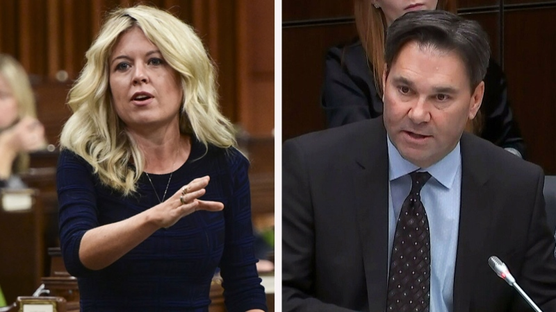 Michelle Rempel Garner and Don Davies