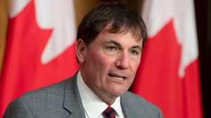 President of the QueenÕs Privy Council for Canada Dominic LeBlanc speaks during a news conference Tuesday October 6, 2020 in Ottawa. THE CANADIAN PRESS/Adrian Wyld