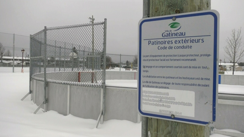Gatineau bans hockey on outdoor city rinks