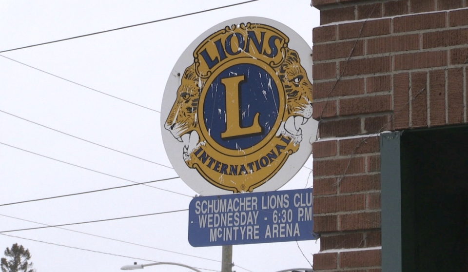 Timmins city councillor Joe Campbell is pushing for the city to reinstitute COVID-19 rent relief for businesses, charities and non-profit organizations, including the Schumacher Lions Club, which is struggling because of the pandemic. (Sergio Arangio/CTV News)