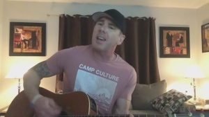 Mike Trudell of Sudbury has been sharing his talents on social media. Tonight he sings a cover of Jake Owen's 'Homemade.'