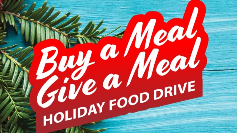 Buy a Meal, Give a Meal initiative poster. (source Serbian Centre Windsor/Facebook)