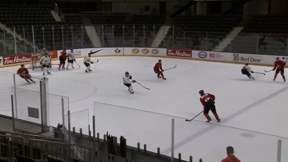 Hockey Canada selection camp. (Source: TSN)