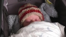 Fifteen days after his child was born, Dave McIntosh proudly carried his son out of Abbotsford Regional Hospital Wednesday afternoon.